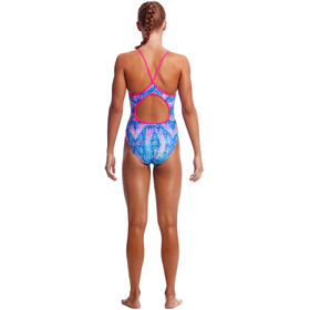 Funkita Diamond Back One Piece Swimsuit Girls dye tie